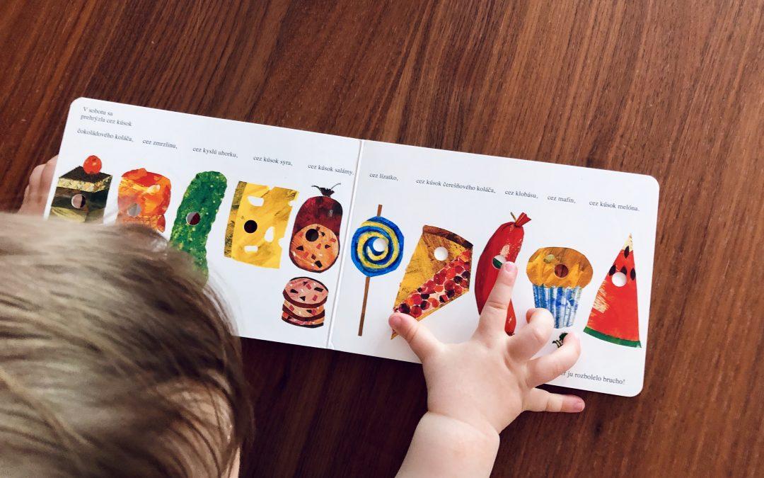 Najobľúbenejšie knižky pre deti od jedného roka