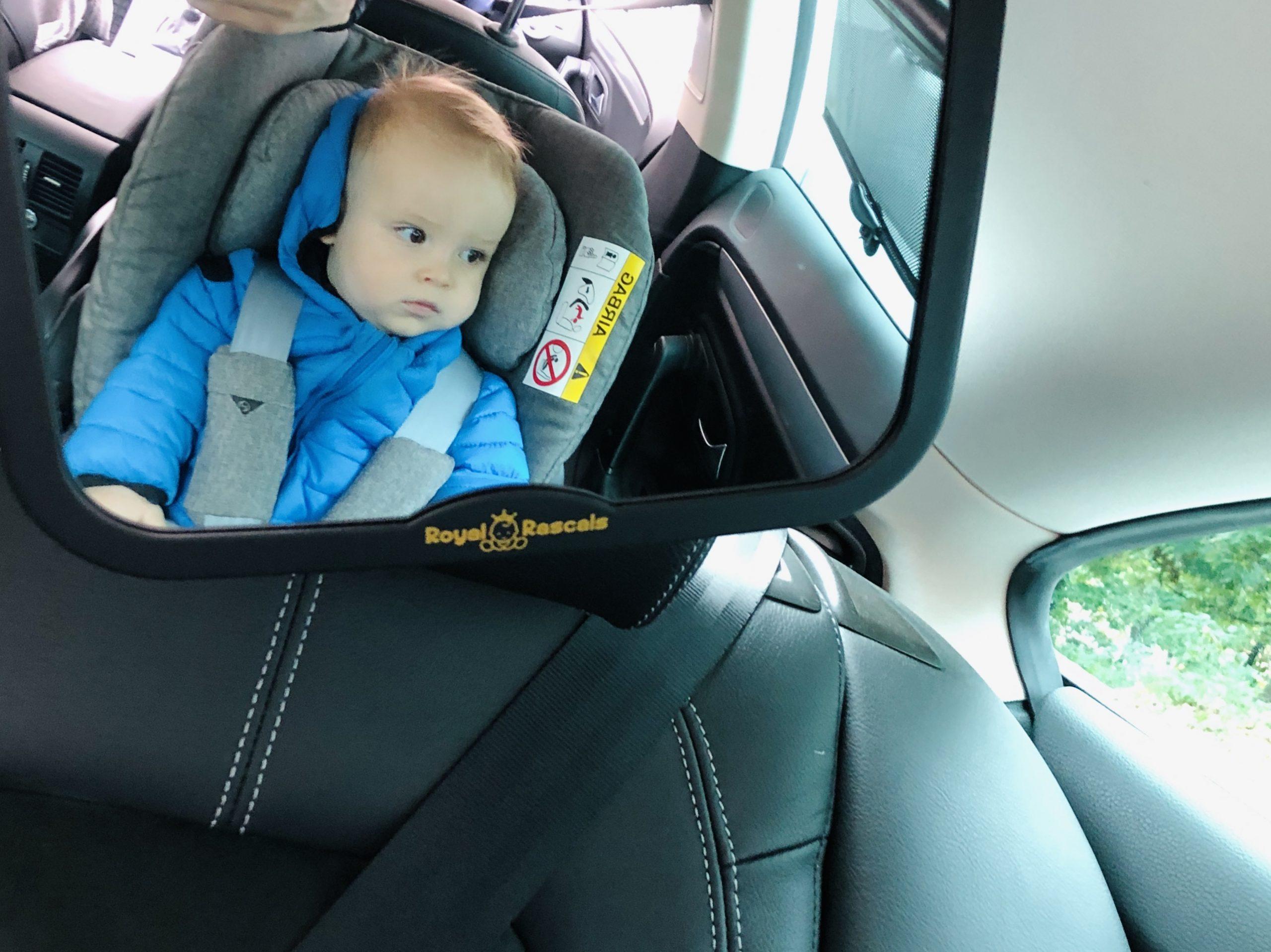 Spätné zrkadlo do auta - Royal Rascals