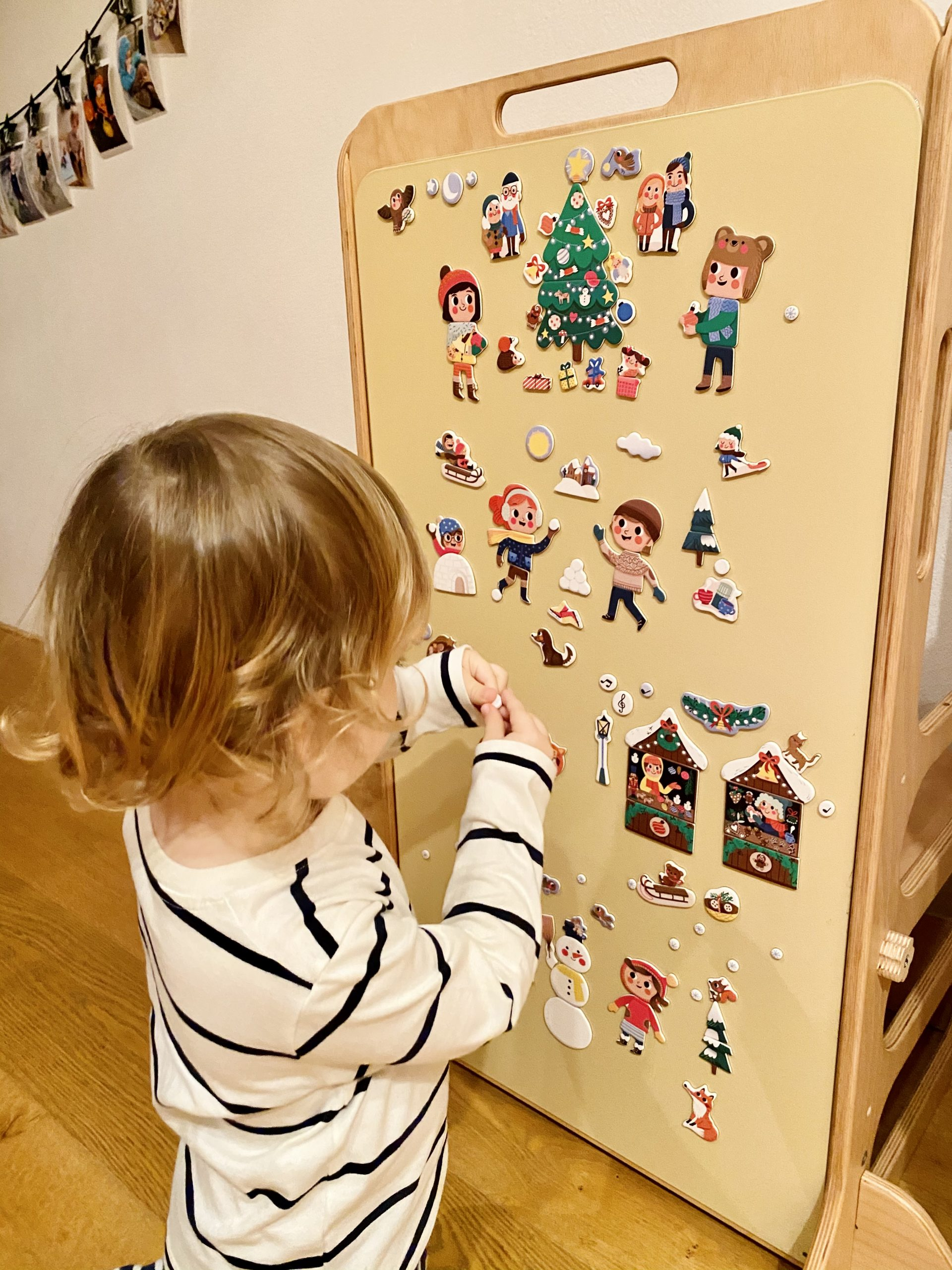 magneticka kniha Vianoce