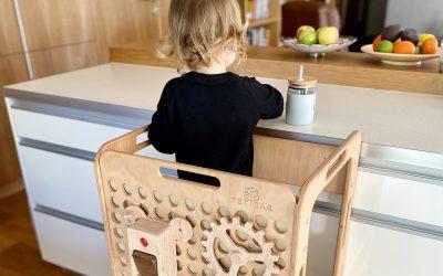 Montessori učiaca veža Petinka – recenzia