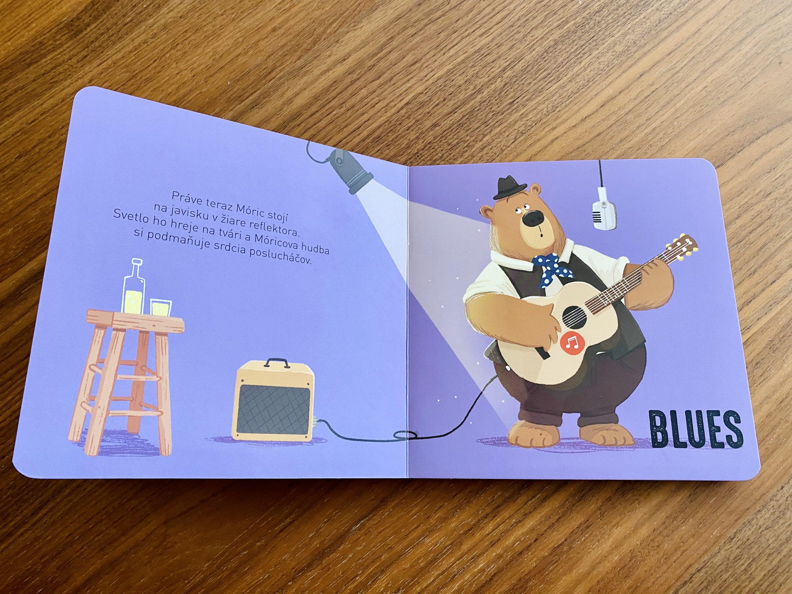 kniha Ako znie gitara