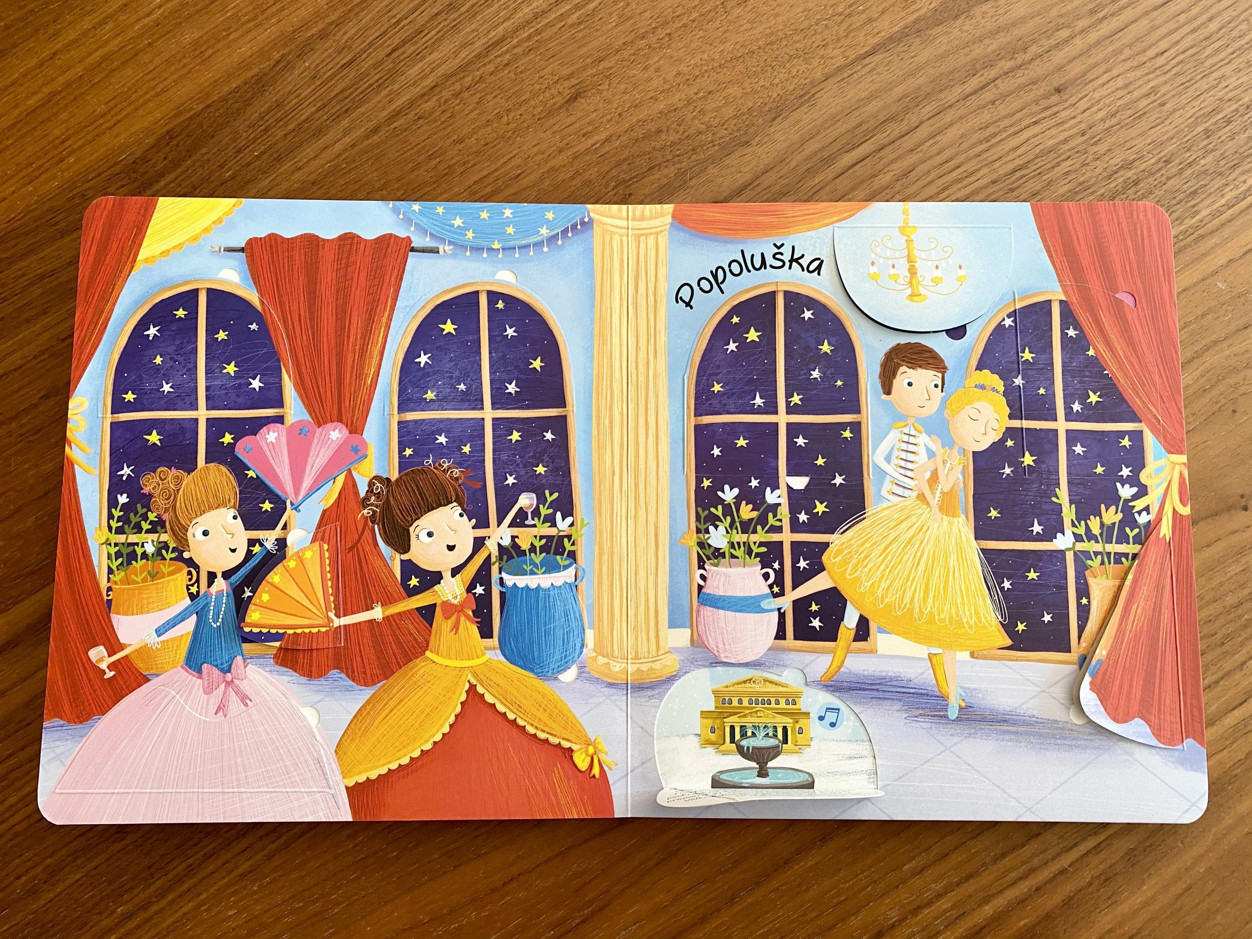 zvukova knižka Milujem hudbu: Baletná hudba