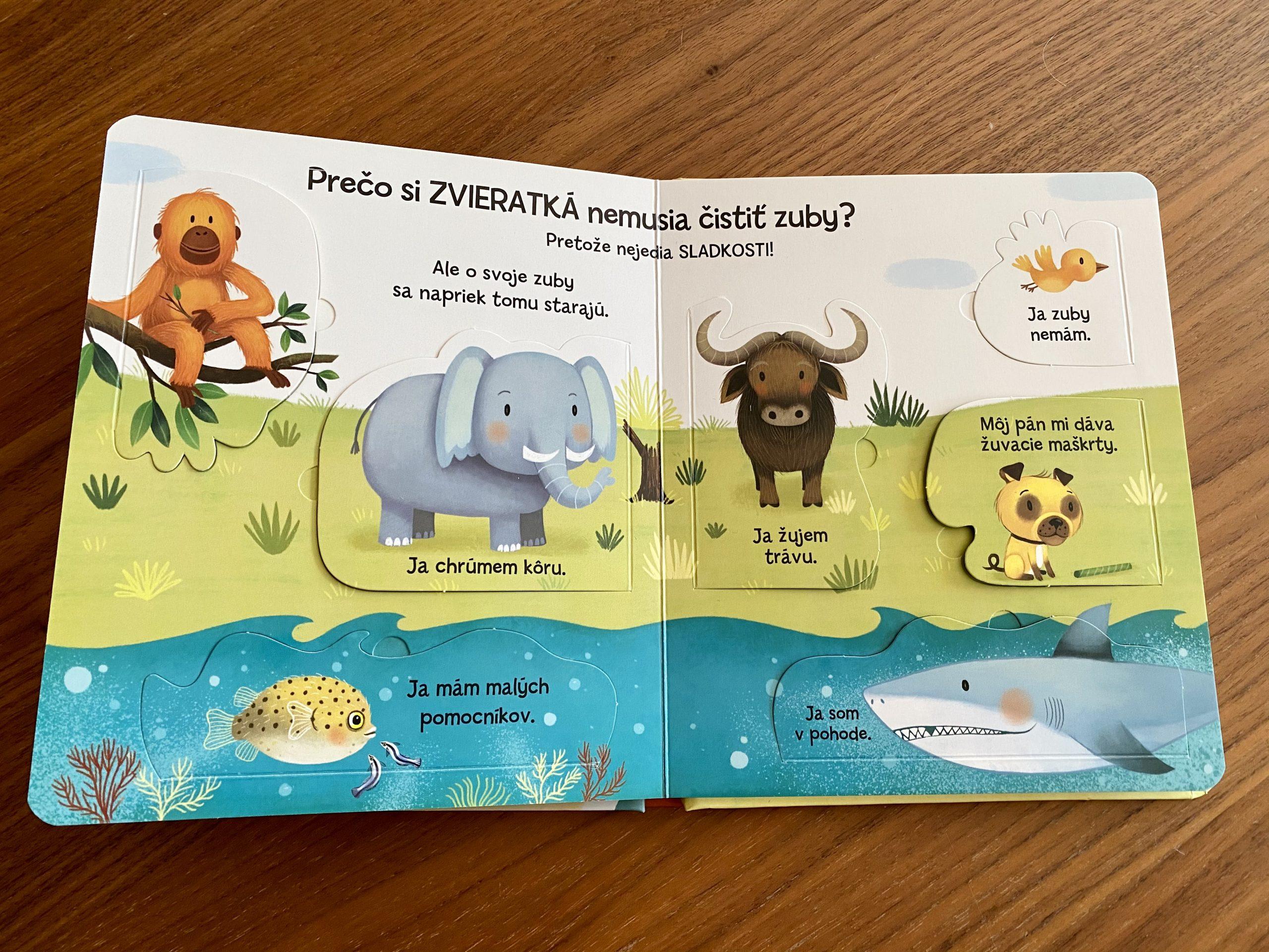 kniha Prečo si musím čistiť zuby