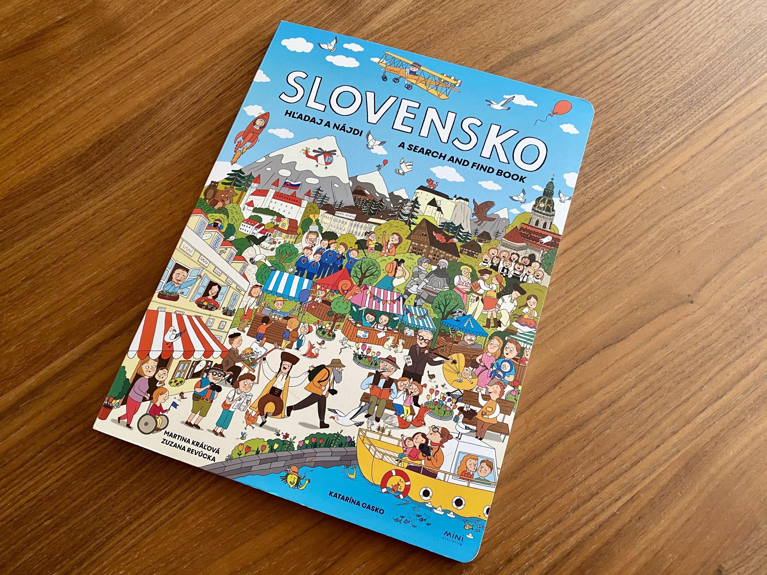 kniha Hľadaj a nájdi Slovensko