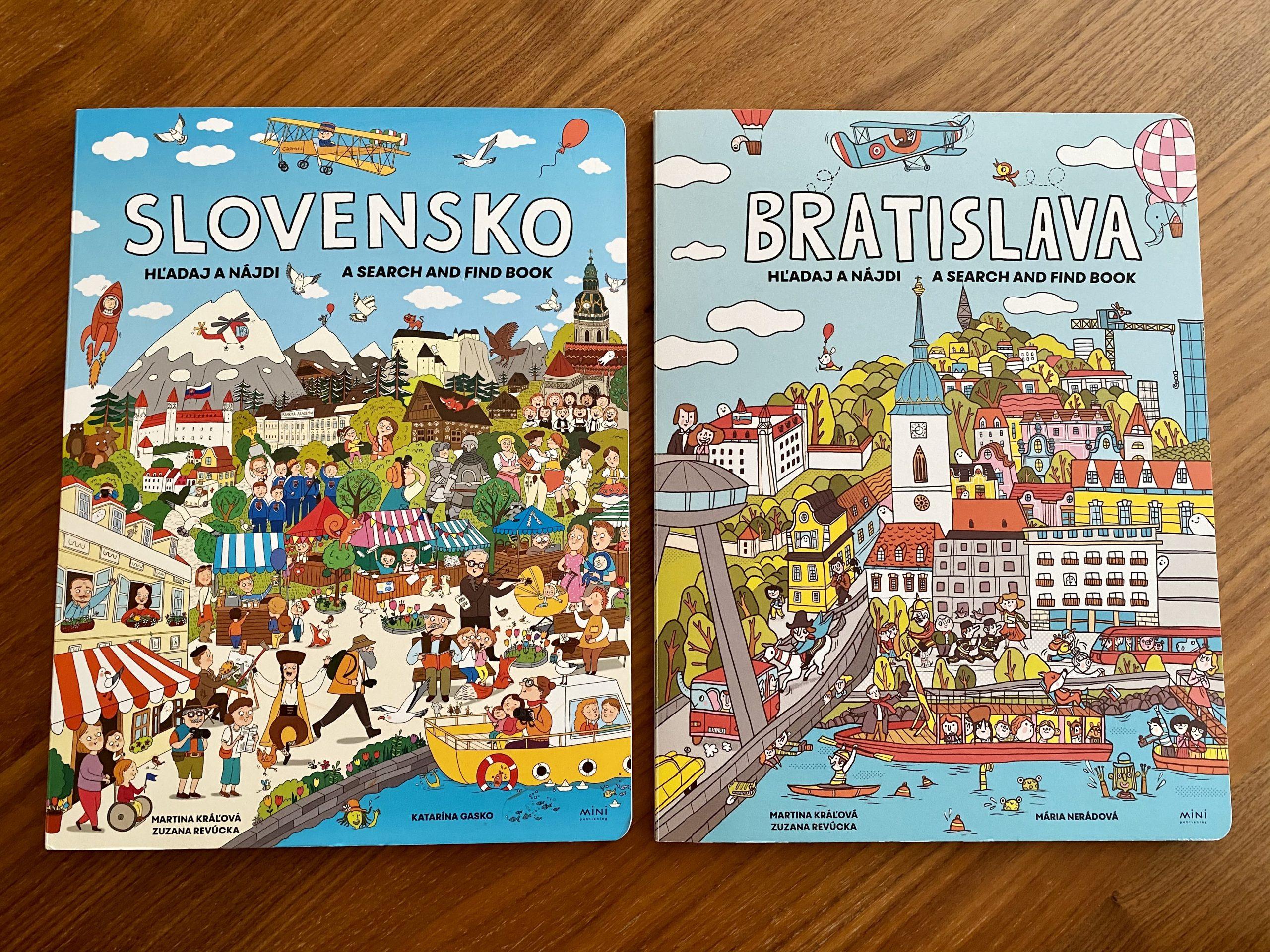 Hľadaj a nájdi Slovensko a Hľadaj a nájdi Bratislava