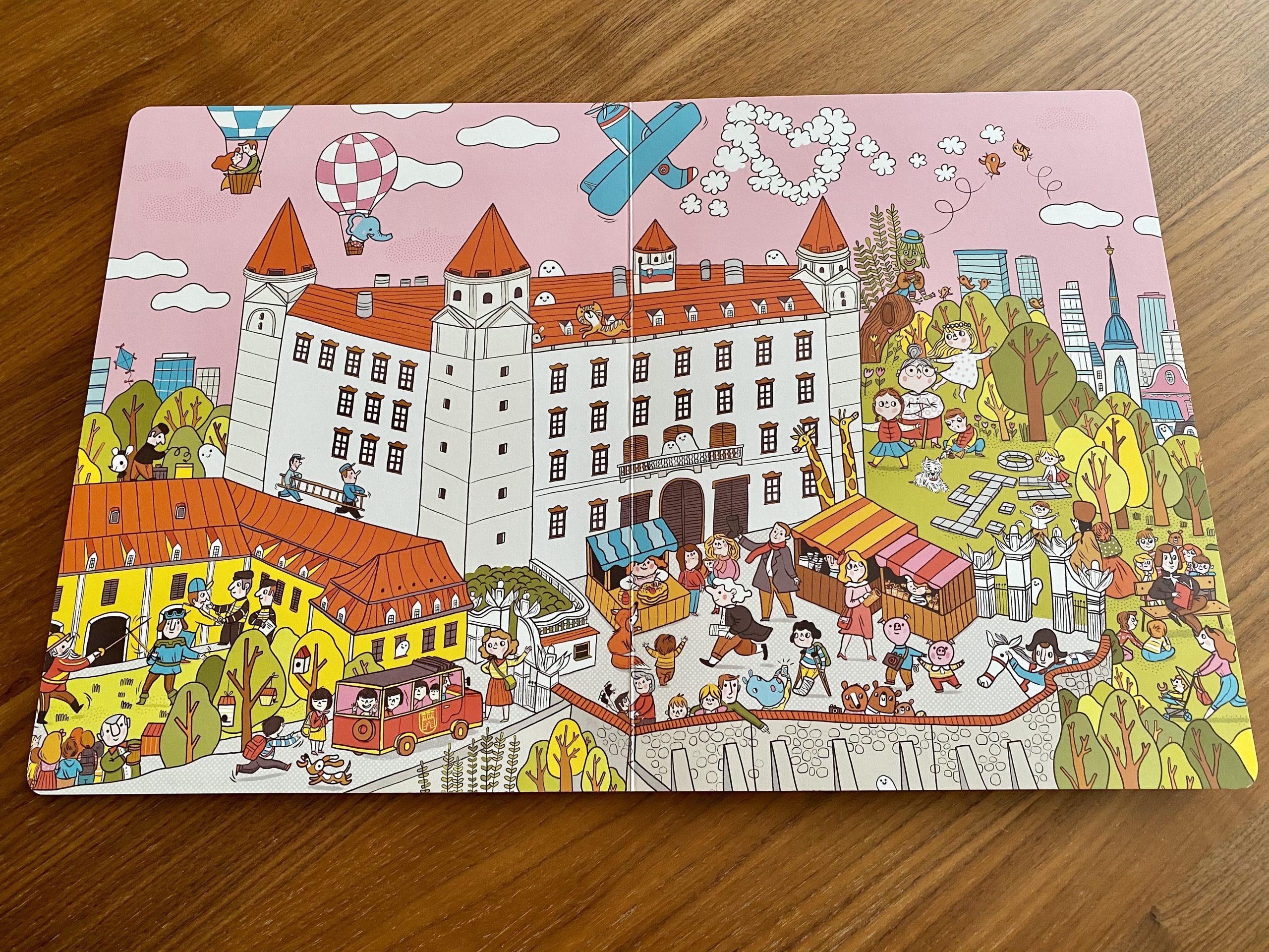 kniha Hľadaj a nájdi Bratislava