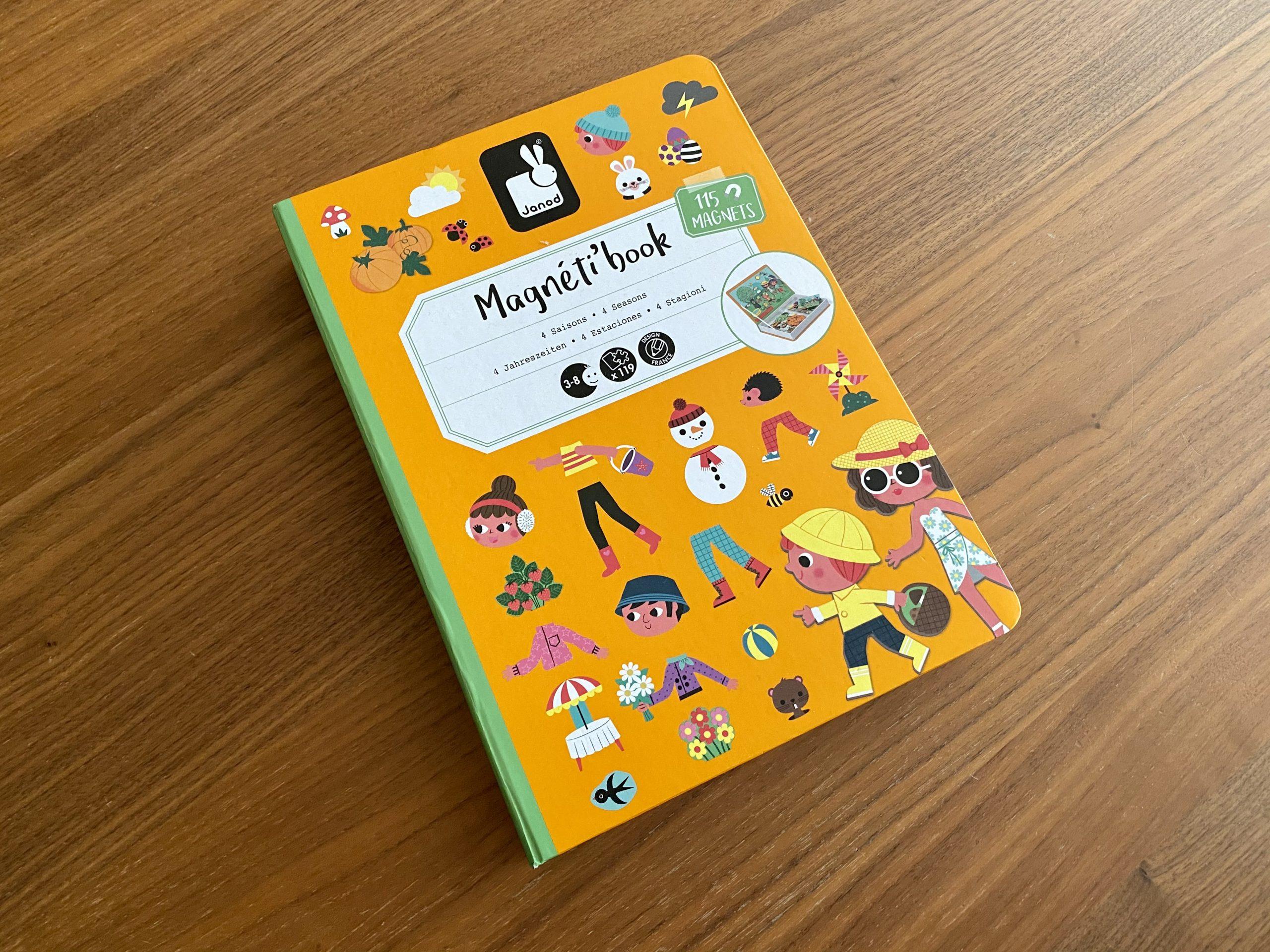 Magnetická kniha Štyri ročné obdobia