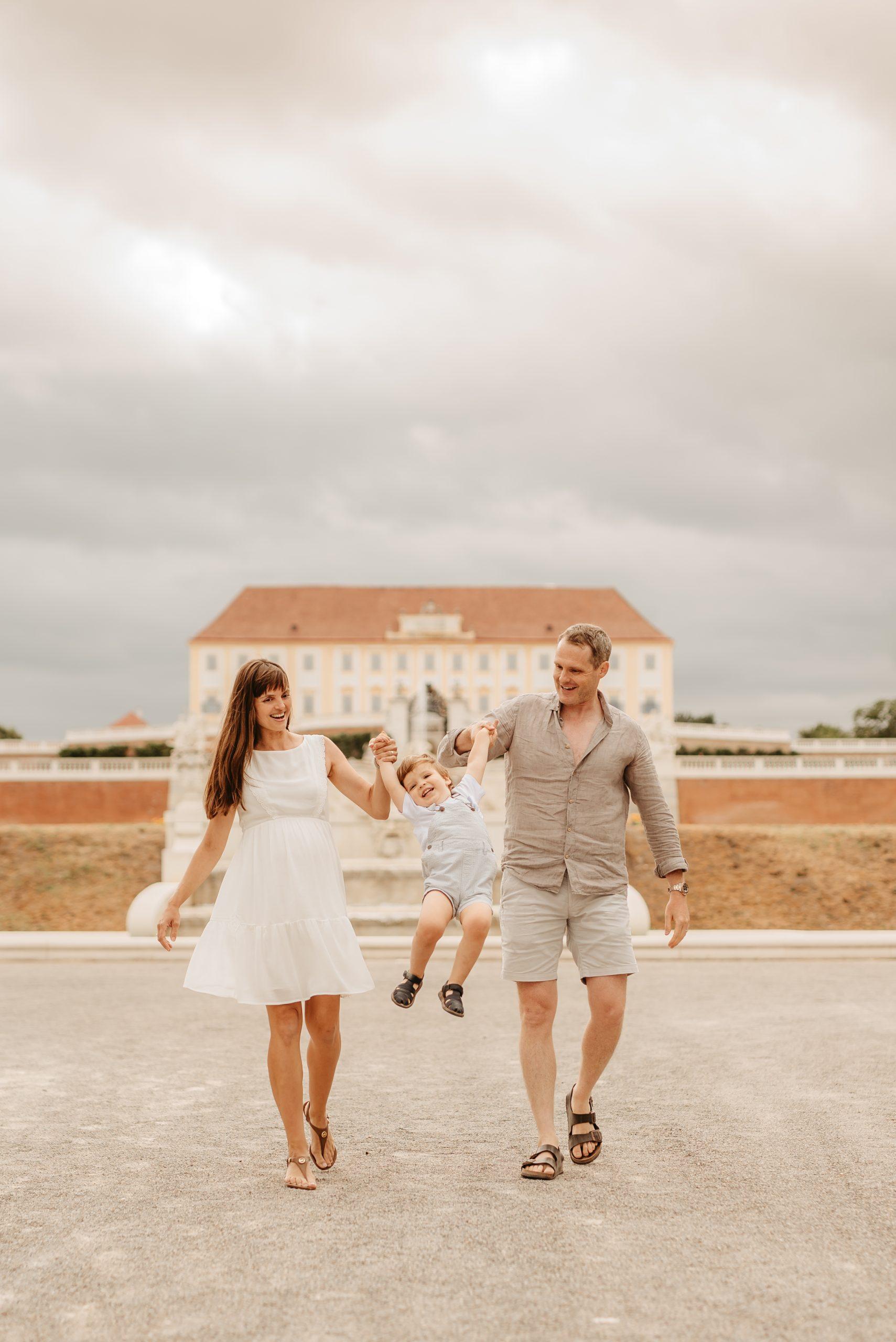 rodinny vylet Schloss Hof